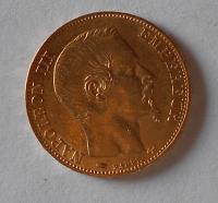 Francie 20 Frank 1855 Napoleon III.