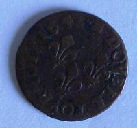 Francie Dernier tolernoise 1643 Ludvík XIII.