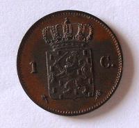 Holandsko 1 Cent 1876