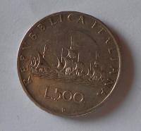 Itálie 500 Lira 1959