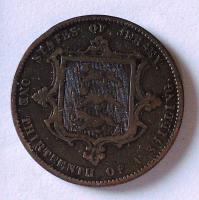 Jersej 1/3 Schilling 1871
