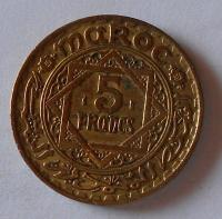 Maroko 5 Frank 1365 AH