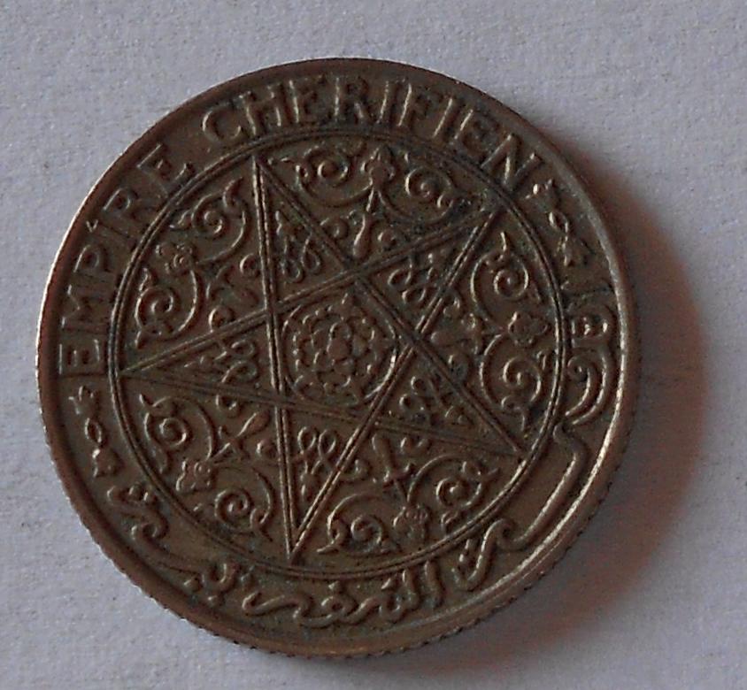 Maroko 50 Cent 1921