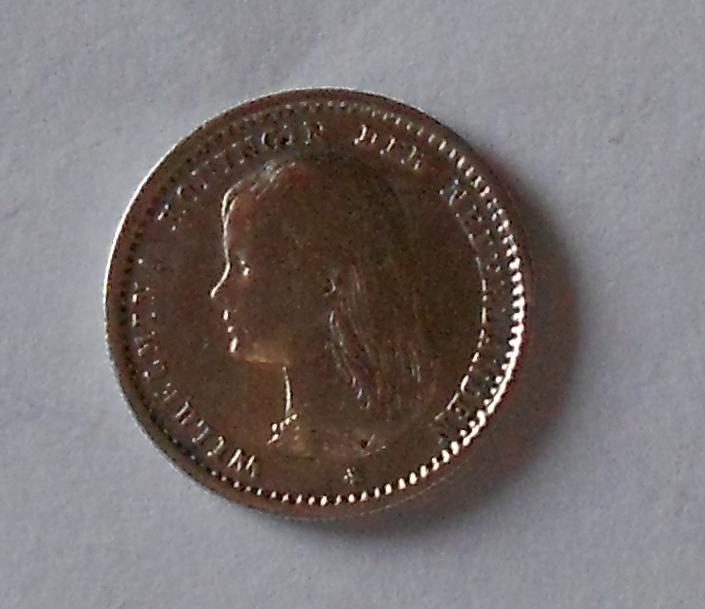 Nizozemí 10 Cent 1892