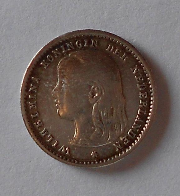Nizozemí 10 Cent 1896