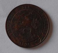 Nizozemí 2 1/2 Cent 1904