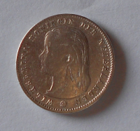 Nizozemí 25 Cent 1897