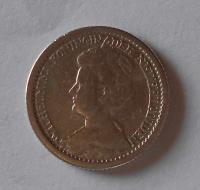 Nizozemí 25 Cent 1917