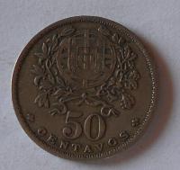 Portugalsko 50 Cent 1928