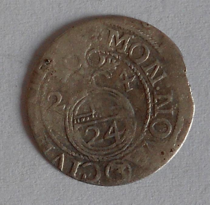Riga 1/24 Tolar 1624 Gustav Adolf švédská okupace