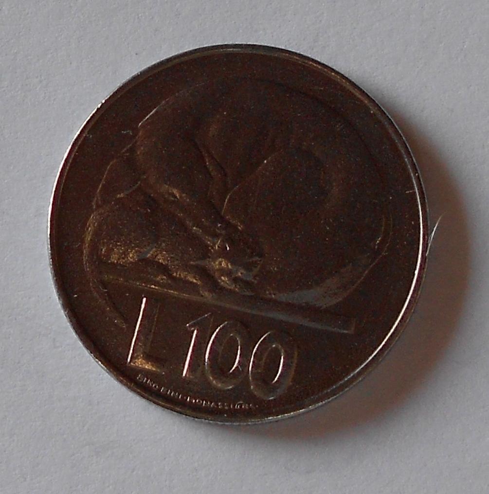 San Marino 100 Lira 1975