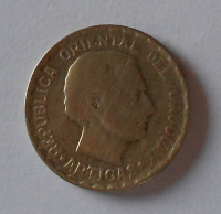 Urugay 50 Centimos 1943