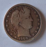 USA 1/2 Dolar 1900