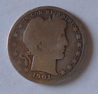 USA 1/2 Dolar 1901