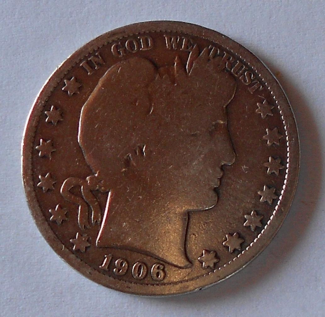 USA 1/2 Dolar 1906