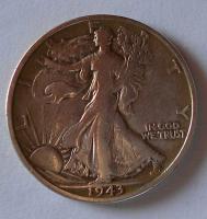 USA 1/2 Dolar 1943