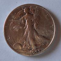 USA 1/2 Dolar 1944