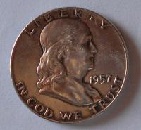 USA 1/2 Dolar 1957