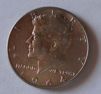 USA 1/2 Dolar 1964