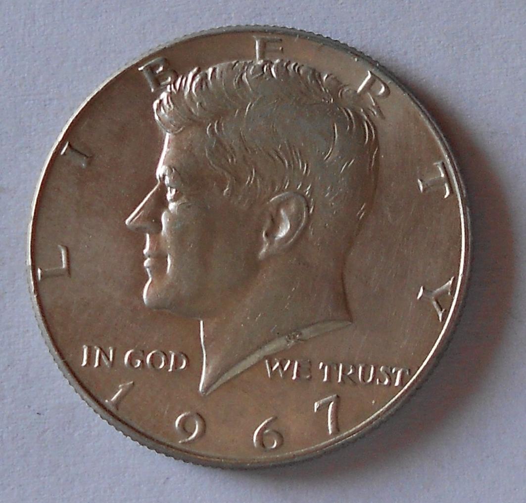 USA 1/2 Dolar 1967