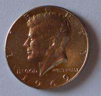 USA 1/2 Dolar 1969