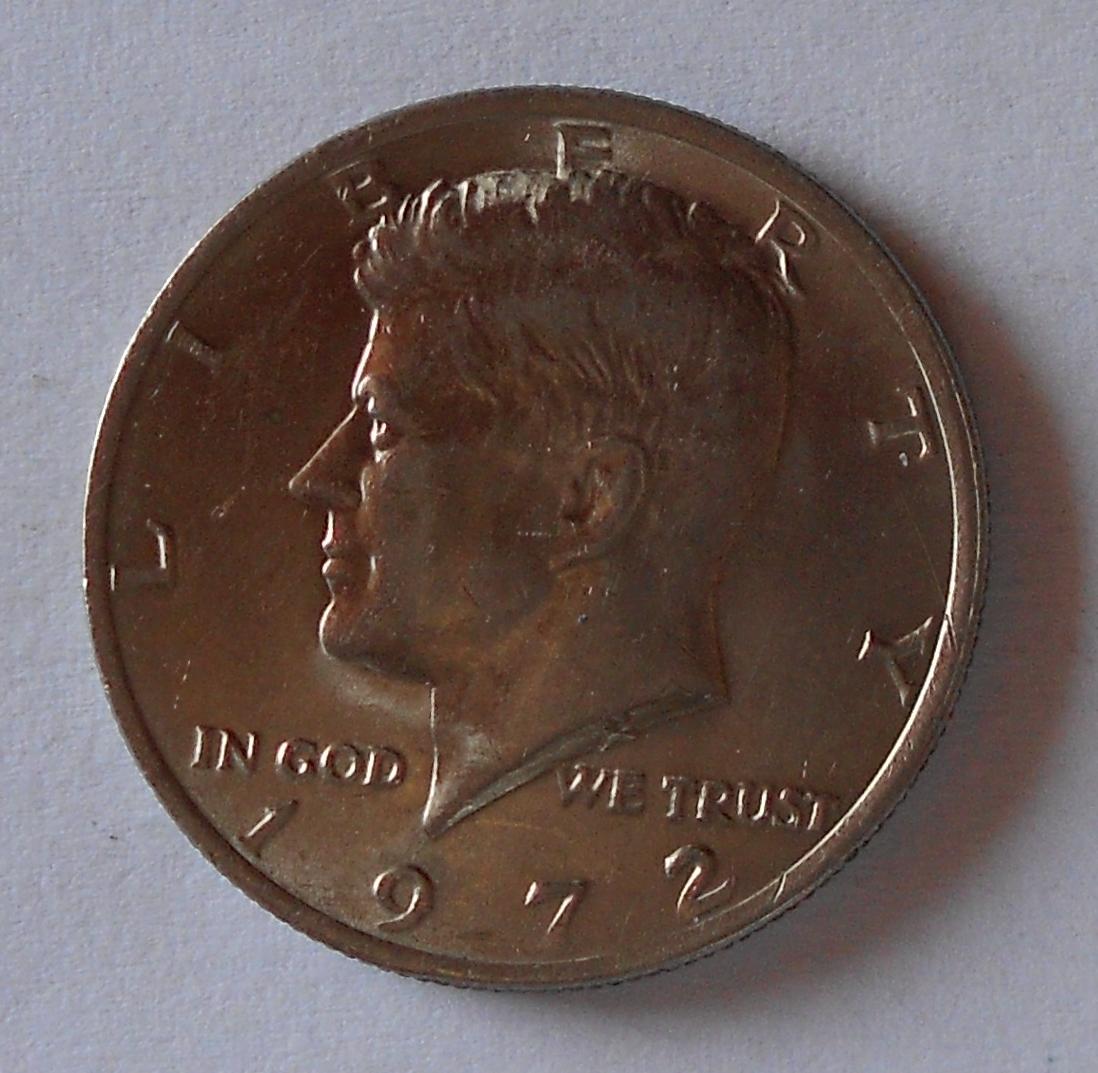 USA 1/2 Dolar 1972