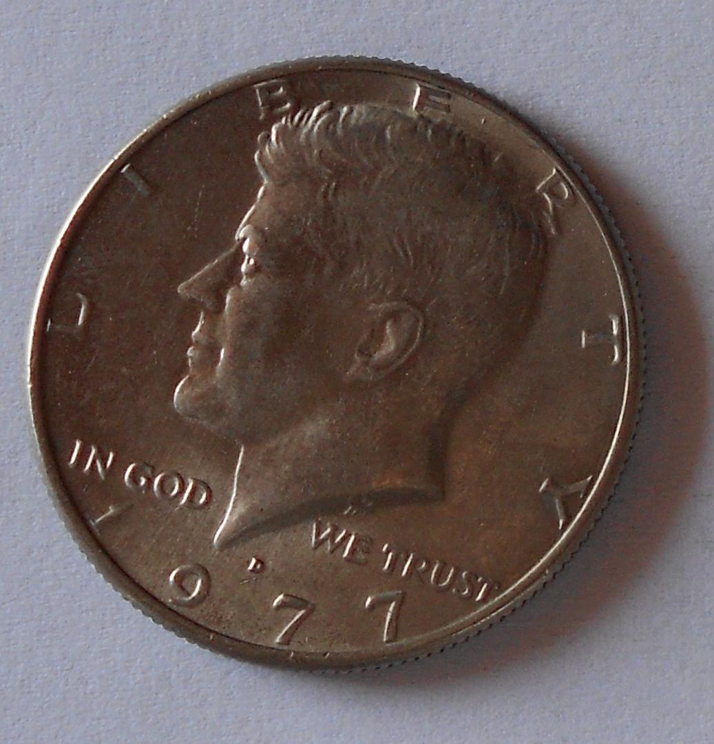 USA 1/2 Dolar 1977