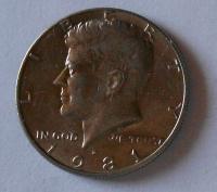 USA 1/2 Dolar 1981