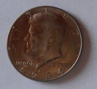 USA 1/2 Dolar 1984