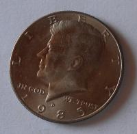 USA 1/2 Dolar 1985