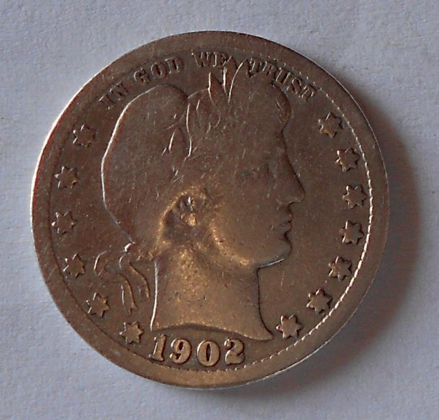 USA 1/4 Dolar 1902
