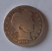 USA 1/4 Dolar 1910