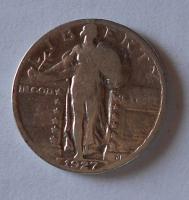 USA 1/4 Dolar 1927