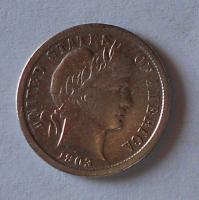 USA 1 Dime 1903