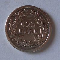 USA 1 Dime 1916