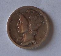 USA 1 Dime 1920