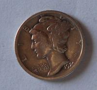 USA 1 Dime 1922