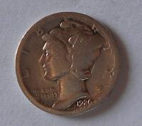 USA 1 Dime 1926