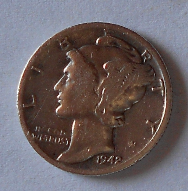 USA 1 Dime 1942
