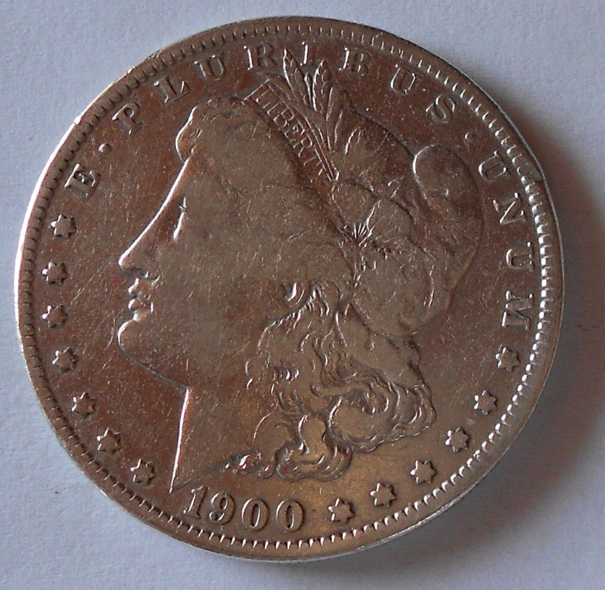 USA 1 Dolar 1900