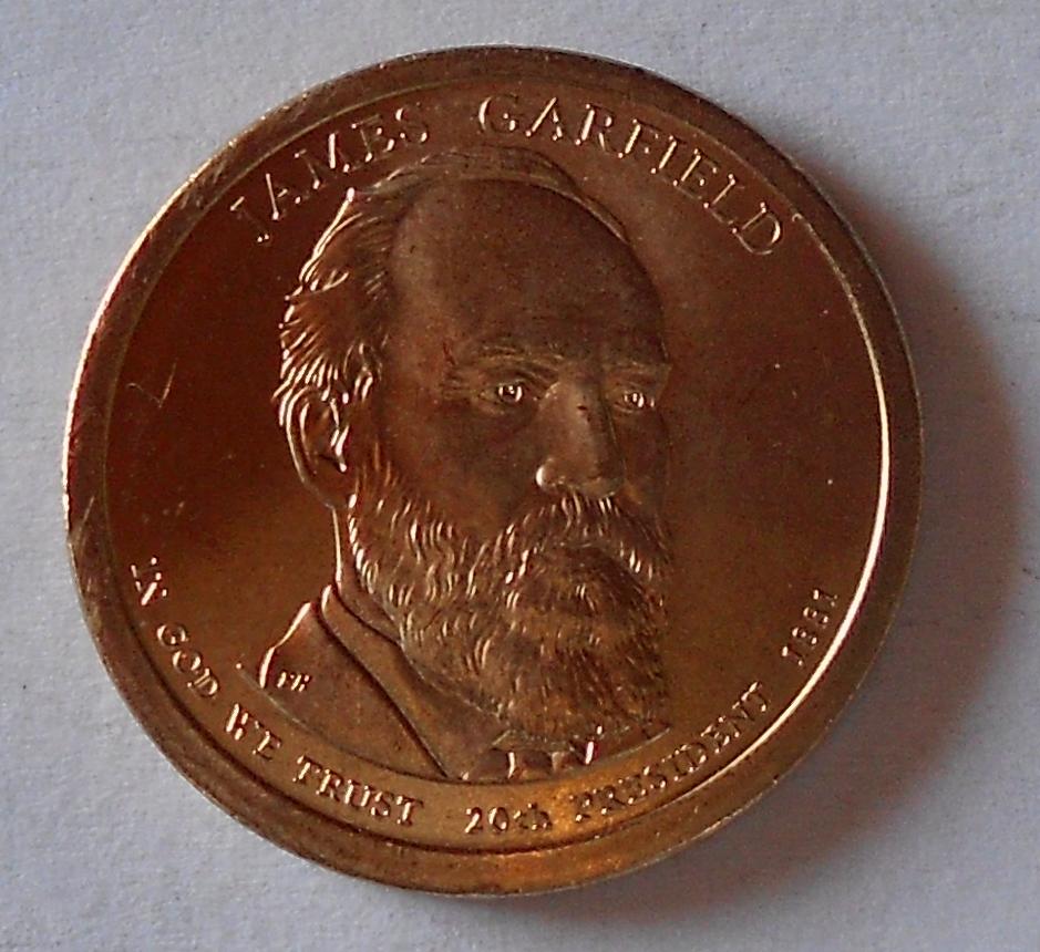 USA 1 Dolar Garfild