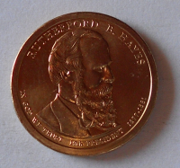 USA 1 Dolar Hayes