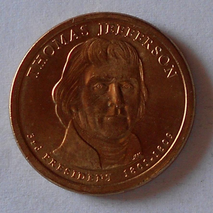 USA 1 Dolar Jeferson