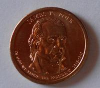 USA 1 Dolar Polk