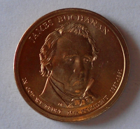 USA 1 Dolar Prezident Buchanan