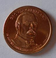 USA 1 Dolar Prezident Clevelant