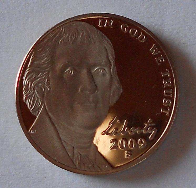 USA 5 Cent 2009