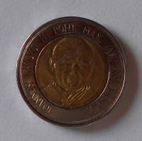 Vatikán 500 Lira Jan Pavel II.