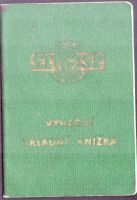 Výherní vkladní knížka, Česká spořitelna ČSSR (1967)
