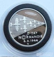 200 Kč(1994-vylodění v Normandii), stav PROOF, etue